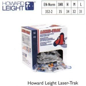 Howard Leight Laser-Trak korvatulpat