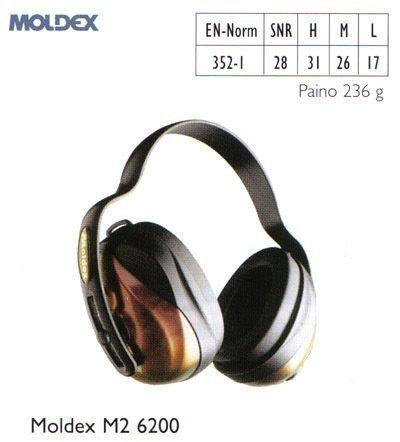 Moldex M2 6200 kuulosuojain