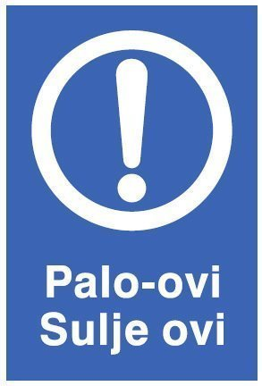 Palo-ovi Sulje ovi 200x300 mm