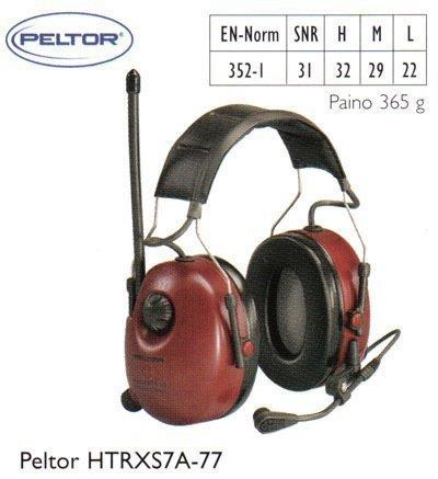 Peltor HTRXS7A-77 kuulosuojain