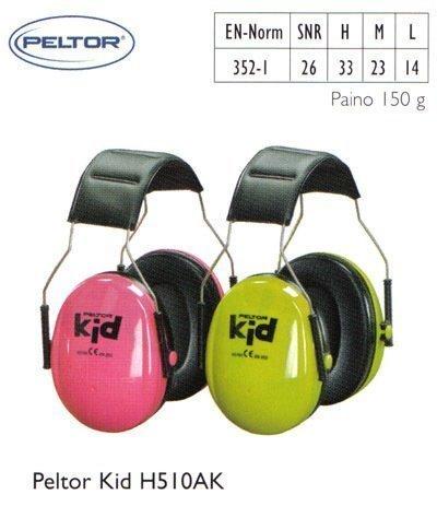Peltor Kid H510AK kuulosuojain
