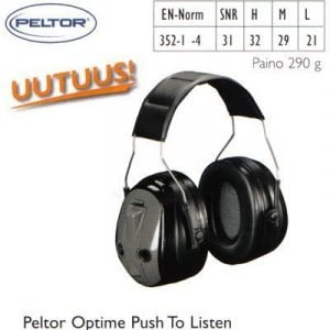 Peltor Optime Push To Listen kuulosuojain