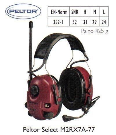 Peltor Select M2RX7A-77 kuulosuojain