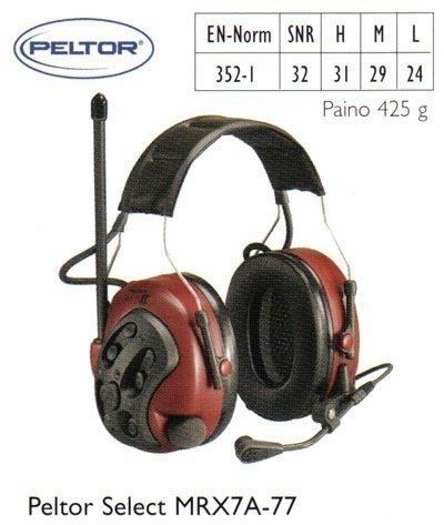 Peltor Select MRX7A-77 kuulosuojain