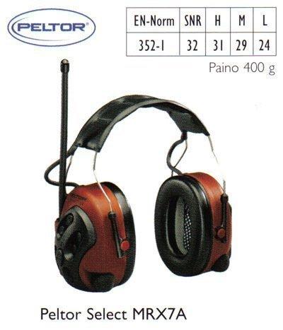Peltor Select MRX7A kuulosuojain