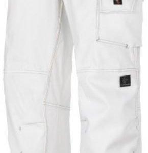 Snickers Maalarin housut valkoinen