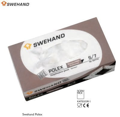 Swehand Polex polyeteenikäsineet