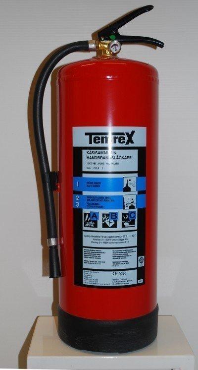 Temrex TPX 120 jauhesammutin