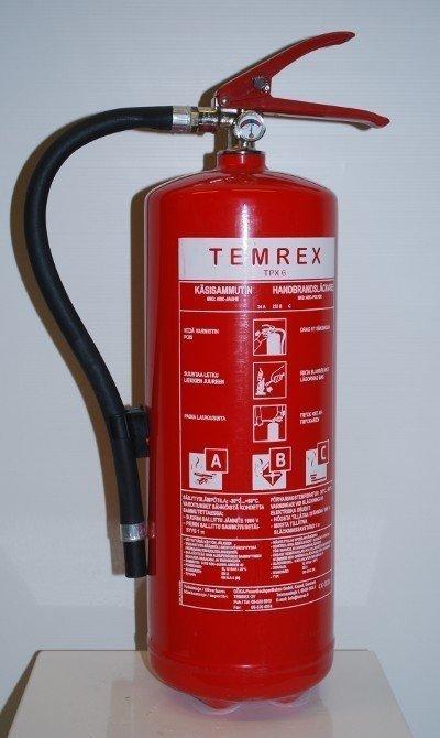 Temrex TPX 6 jauhesammutin