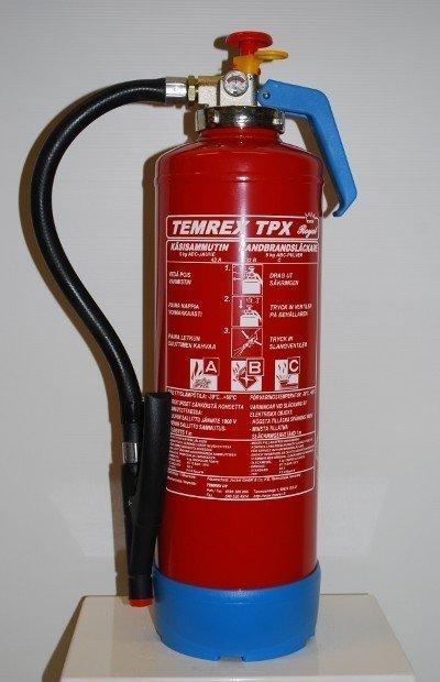Temrex TPX 60 Royal jauhesammutin