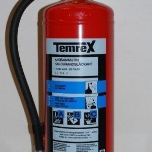 Temrex TPX 60 jauhesammutin