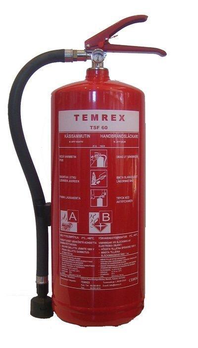 Temrex TSF 60 vaahtosammutin