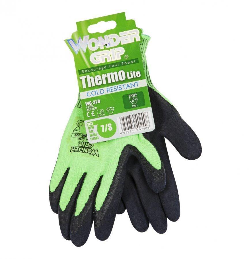 Wonder Grip Thermo Lite Työkäsine 7 Vihreä