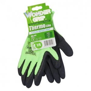 Wonder Grip Thermo Lite Työkäsine 9 Vihreä
